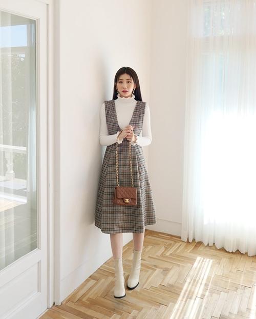 5 kiểu mặc layer với áo len để nàng công sở vừa ấm vừa xinh-5