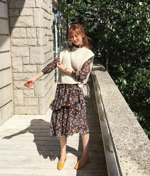5 kiểu mặc layer với áo len để nàng công sở vừa ấm vừa xinh-6