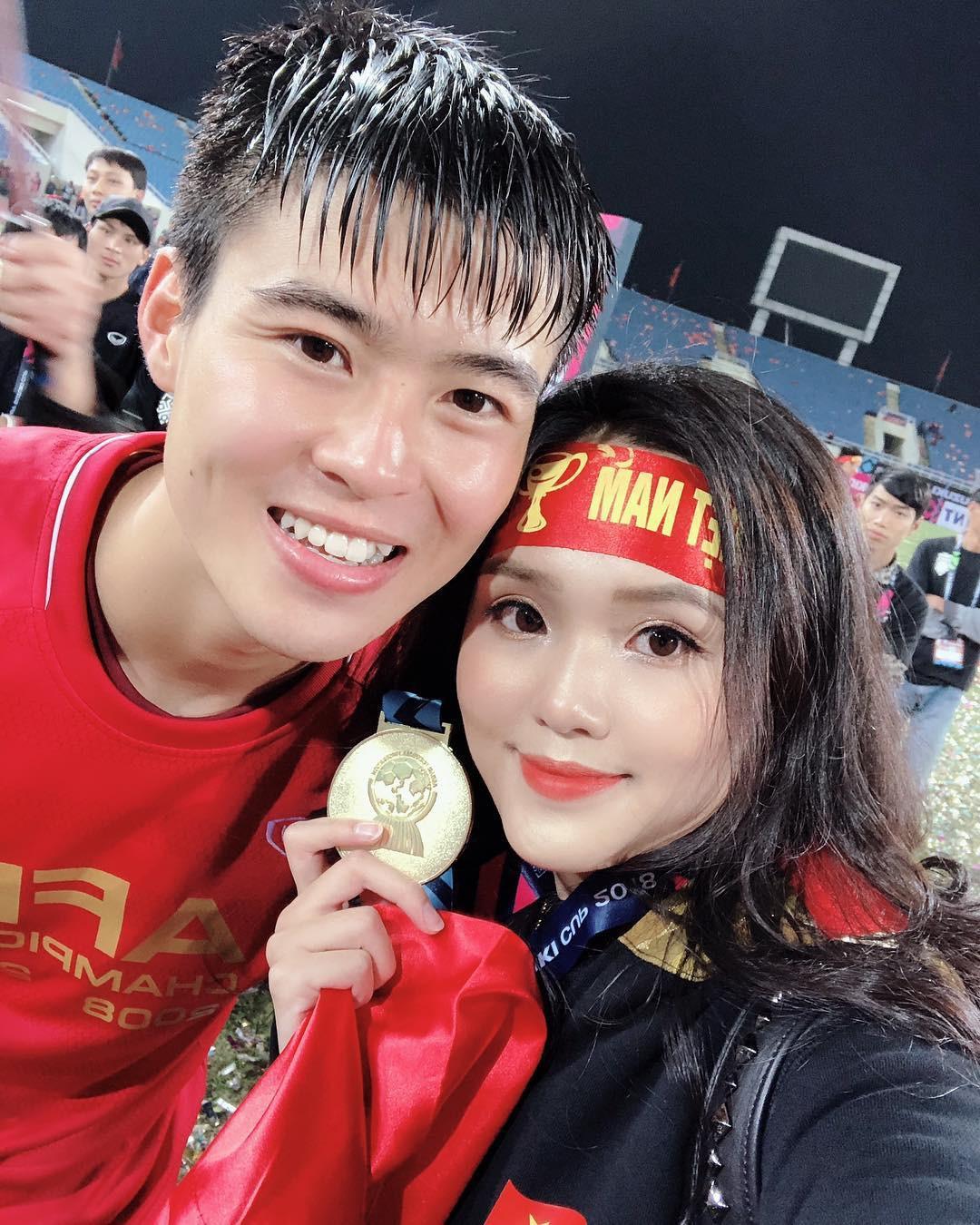 Tiếp bước bạn gái Quang Hải, người yêu Duy Mạnh cũng đang trở thành hot girl quảng cáo?-8