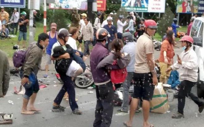Thai phụ vụ container tông 21 xe máy ám ảnh nhớ lại: Chân của một người chết đè lên chân tôi-1