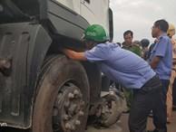 Phanh xe container tông chết 4 người ở Long An hoàn toàn bình thường