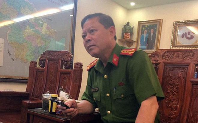 Đình chỉ công tác Trưởng Công an thành phố Thanh Hóa-1