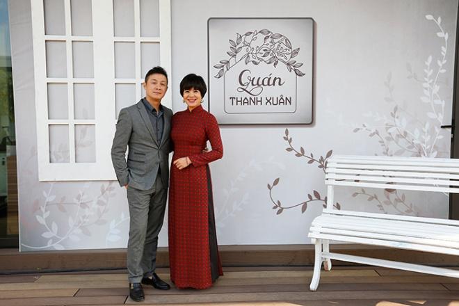 Bộ đôi MC Diễm Quỳnh - Anh Tuấn tái ngộ trong bộ ảnh thanh xuân-6