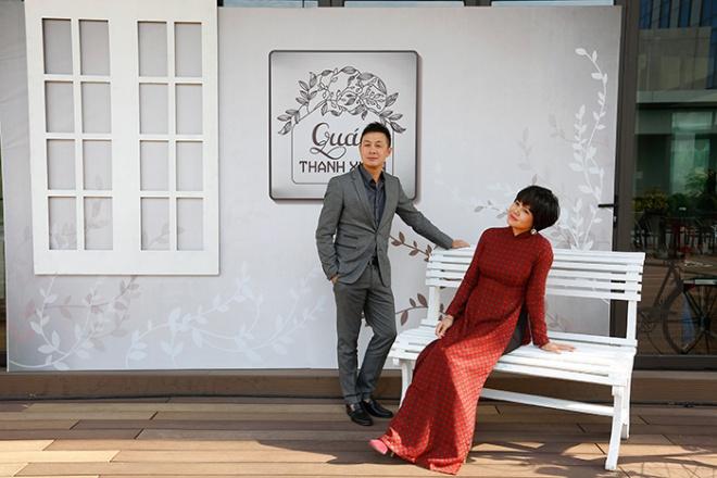 Bộ đôi MC Diễm Quỳnh - Anh Tuấn tái ngộ trong bộ ảnh thanh xuân-7