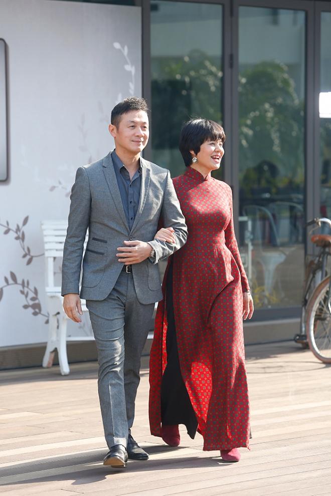 Bộ đôi MC Diễm Quỳnh - Anh Tuấn tái ngộ trong bộ ảnh thanh xuân-9