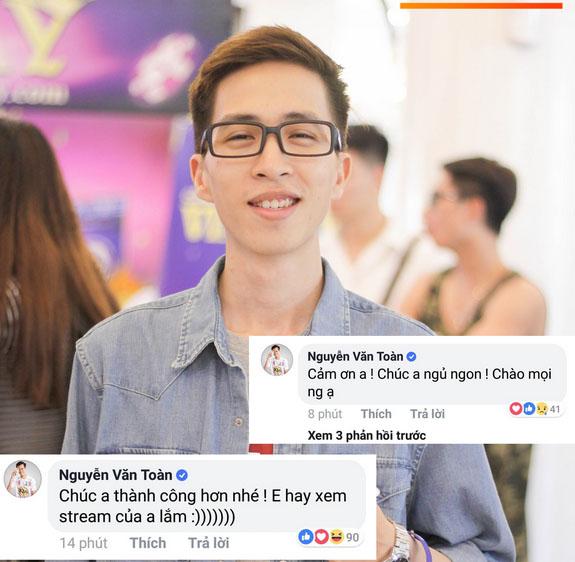 Văn Toàn công khai bày tỏ sự ngưỡng mộ streamer triệu view hàng đầu Châu Á của Việt Nam-1
