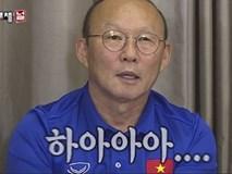 HLV Park Hang Seo cùng các học trò gây 'sốt' trên sóng truyền hình Hàn Quốc