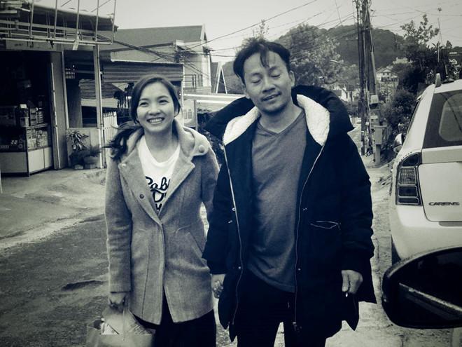 Những khoảnh khắc đời thường của rapper Tiến Đạt và bà xã 9X-1