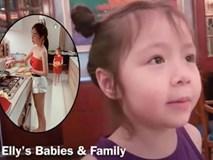 Elly Trần quay clip con gái nói chuyện, không ngờ Cadie vô tư để lộ về bố trong clip