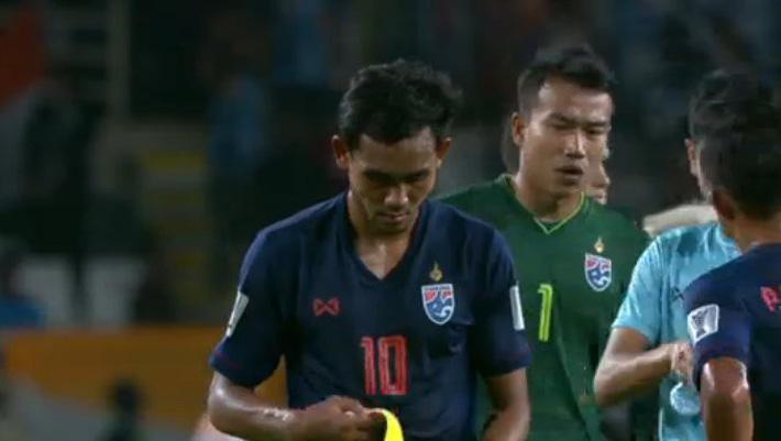 Đại bại trước Ấn Độ, Thái Lan đối diện nguy cơ lớn bị loại từ vòng bảng Asian Cup-2