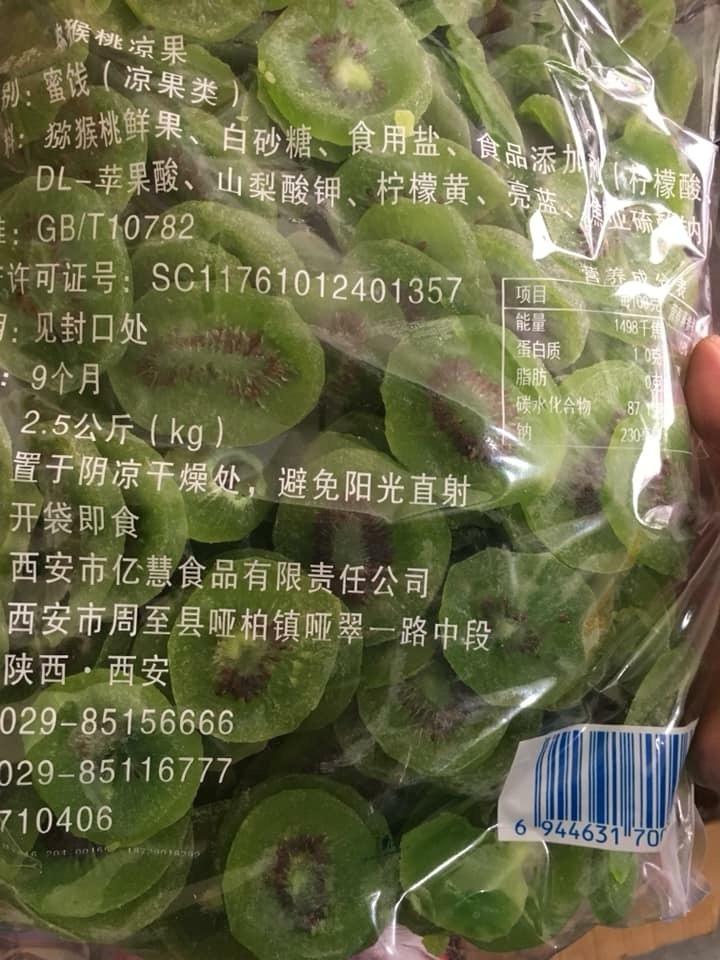 Giật mình bảng giá mứt, hoa quả sấy Trung Quốc về chợ tết Việt-3