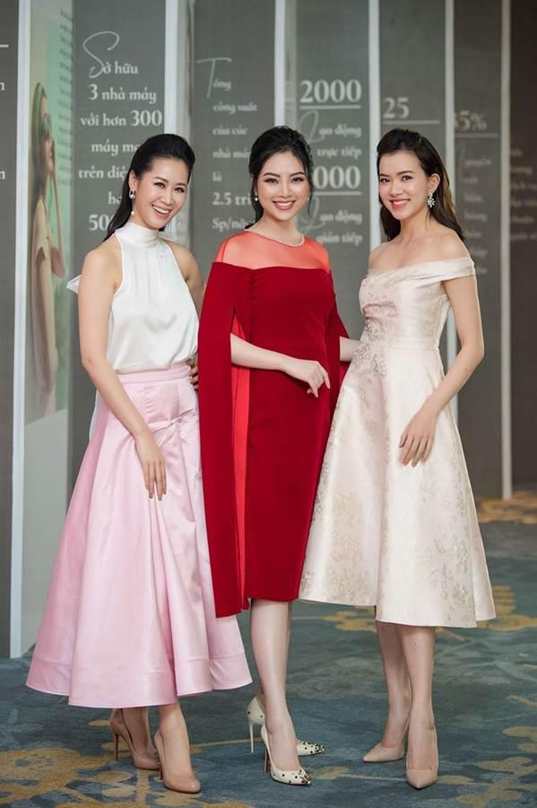 Hoa hậu Đặng Thu Thảo đẹp không tì vết với sắc hồng pastel-9