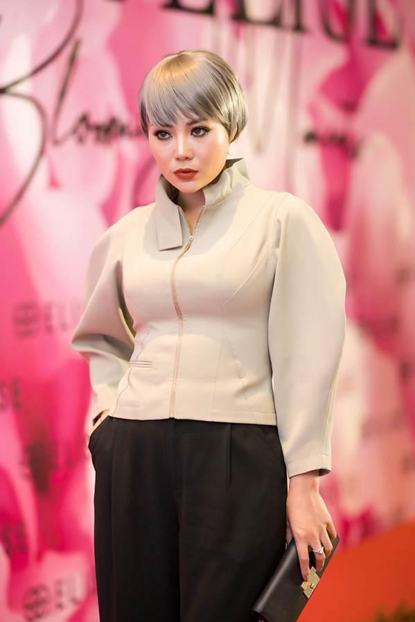 Hoa hậu Đặng Thu Thảo đẹp không tì vết với sắc hồng pastel-13