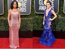 Những bộ váy xuyên thấu và trễ nải gợi cảm nhất trên thảm đỏ Quả Cầu Vàng 2019