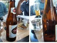 Sabeco bị khởi kiện đòi đền bù vì chai bia chỉ có 1/4