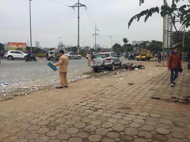 Tài xế khai do hoa mắt nên gây ra vụ tai nạn liên hoàn khiến 2 vợ chồng tử vong ở Hà Nội-1