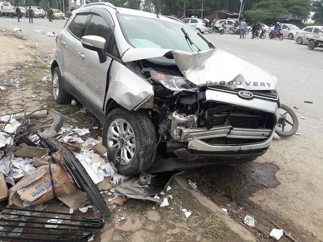 Tài xế khai do hoa mắt nên gây ra vụ tai nạn liên hoàn khiến 2 vợ chồng tử vong ở Hà Nội-2
