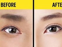1 phút thực hiện phương pháp này của Nhật Bản, mắt gấu trúc nhăn nheo sẽ trẻ đẹp tức thì