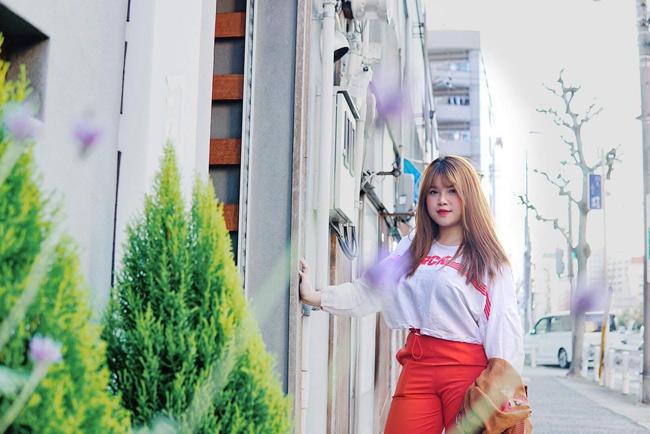 Cô gái Hải Dương vòng một 110cm ngày càng xinh đẹp sau khi đi du học-12