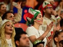 Ngất ngây với vẻ đẹp của fangirl Iran trong ngày đội nhà giành chiến thắng đậm trước Yemen