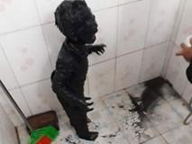 Hình ảnh bé trai lấm bùn đen và phi vụ giải cứu 'hot' nhất mạng xã hội tối thứ Hai