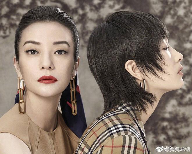 """Đổi kiểu tóc và makeup, Triệu Vy khiến dân tình xôn xao: người khen thời thượng, người chê Én nhỏ mà như Diều hâu""""-4"""