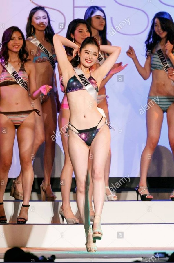Cười lả đi vì màn tạo dáng bá đạo khi thi bikini của thí sinh Hoa hậu Hoàn vũ Nhật Bản-4