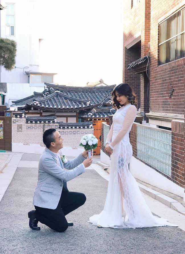 Vừa làm lành 1 tháng, MC Hoàng Linh lại làm vị hôn phu nổi giận, phản ứng của anh khiến cô thấy hãi vô cùng-6
