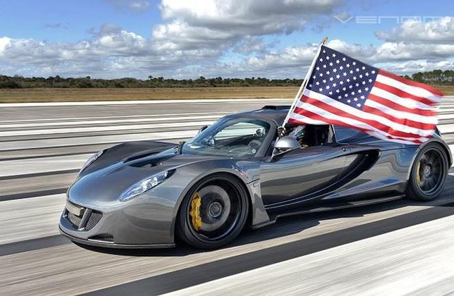 Top 5 siêu xe nhanh nhất thế giới trong năm 2019-2