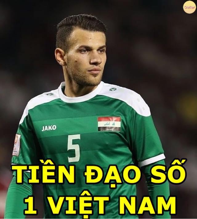 Fan Việt hào hứng tìm info, đề xuất thưởng nóng tiền tỷ cho chàng hậu vệ Iraq phản lưới-2