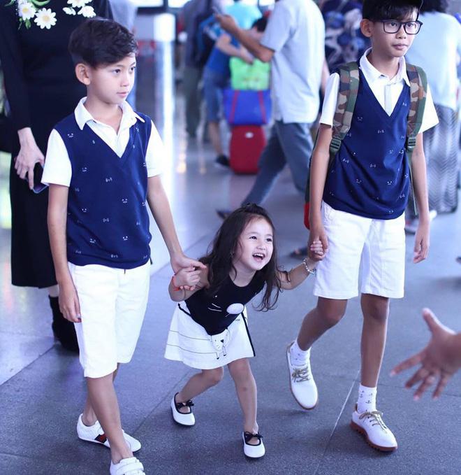 3 người con ruột của Hoa hậu Hà Kiều Anh và chồng đại gia có cuộc sống như thế nào?-10