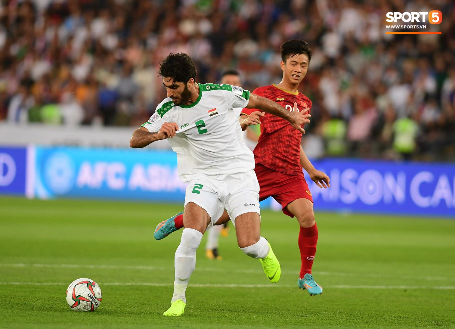 Báo châu Á chấm điểm Iraq 3-2 Việt Nam: Văn Lâm nhận điểm thấp nhất, Công Phượng sáng không ai bằng-9