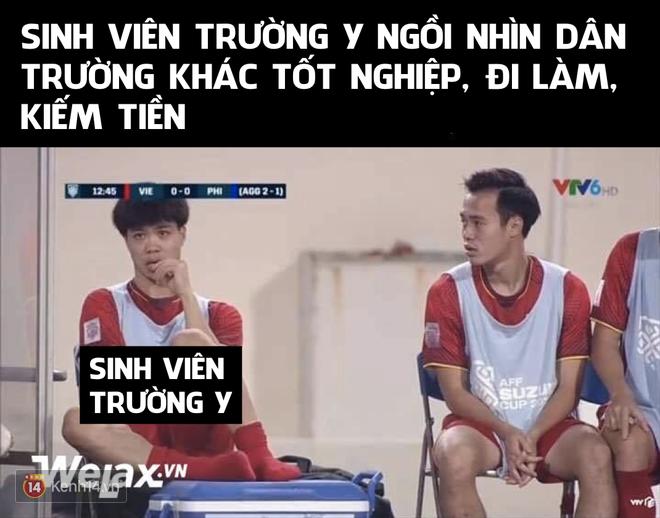 Những bức ảnh chế lầy lội đỉnh cao lấy cảm hứng từ các cầu thủ đội tuyển Việt Nam-5