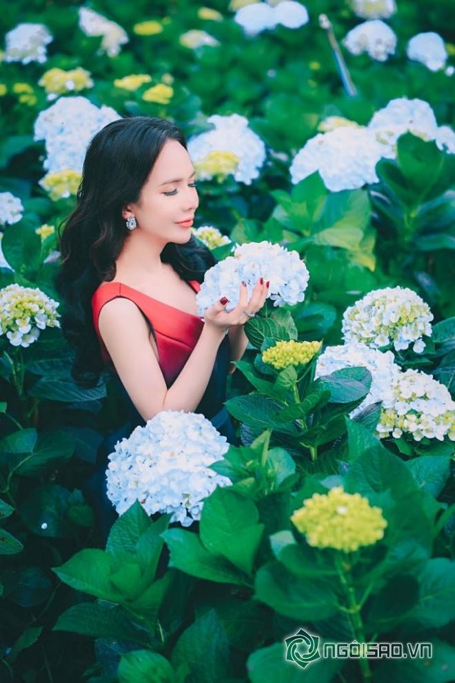 Mỹ nhân chuyển giới Đoàn Trần đẹp nao lòng giữa đồng hoa Đà Lạt-9