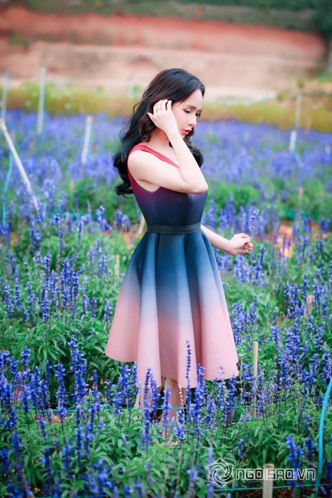 Mỹ nhân chuyển giới Đoàn Trần đẹp nao lòng giữa đồng hoa Đà Lạt-5