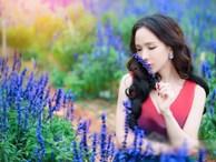 'Mỹ nhân chuyển giới' Đoàn Trần đẹp nao lòng giữa đồng hoa Đà Lạt