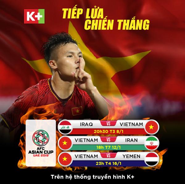 Cùng K+ cổ vũ tuyển Việt Nam tại AFC Asian Cup-1