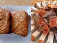 Đầu bếp 5 sao chỉ bạn cách làm heo quay giòn bì bằng chảo cực dễ, thơm ngon 'rộp rộp' ăn đứt nhà hàng