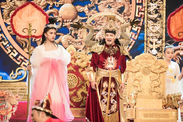 Hoa hậu Tiểu Vy ngã sõng soài khi đóng Táo cùng Mr Đàm-10
