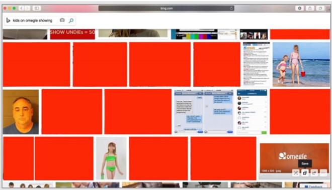 Microsoft bị tố vô trách nhiệm khi Bing hiển thị ảnh ấu dâm-1