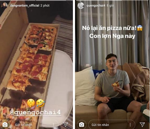 Văn Hậu tậu siêu xe đẳng cấp, Lâm tây bị mắng yêu vì lén lút ăn pizza-2