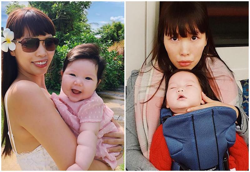 Chân dung cô nhóc mới 6 tháng đã nặng bằng bé 1 tuổi của siêu mẫu Hà Anh-13