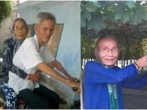 Ông ngoại đi đạp xe nói chuyện với bà khác, bà ngoại ở nhà ghen và màn làm hoà