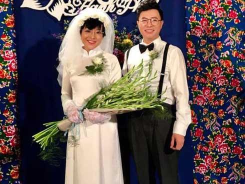 MC Thảo Vân đăng ảnh làm cô dâu, Công Lý phản ứng đầy bất ngờ-1