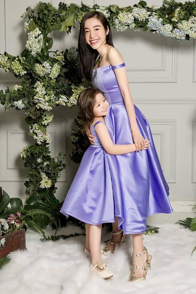 Cadie diễn xuất cực tự nhiên bên mẹ Elly Trần trong loạt ảnh thời trang-8