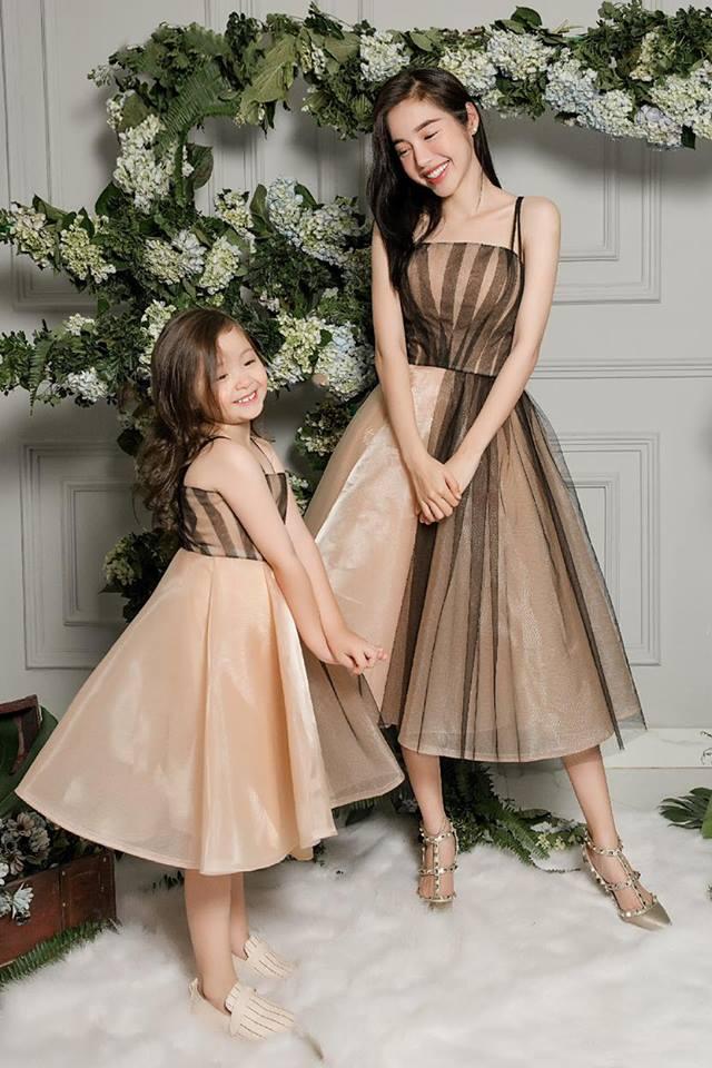 Cadie diễn xuất cực tự nhiên bên mẹ Elly Trần trong loạt ảnh thời trang-11