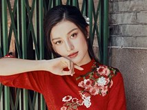 Á hậu Huyền My khác lạ trong bộ ảnh áo dài đón Tết