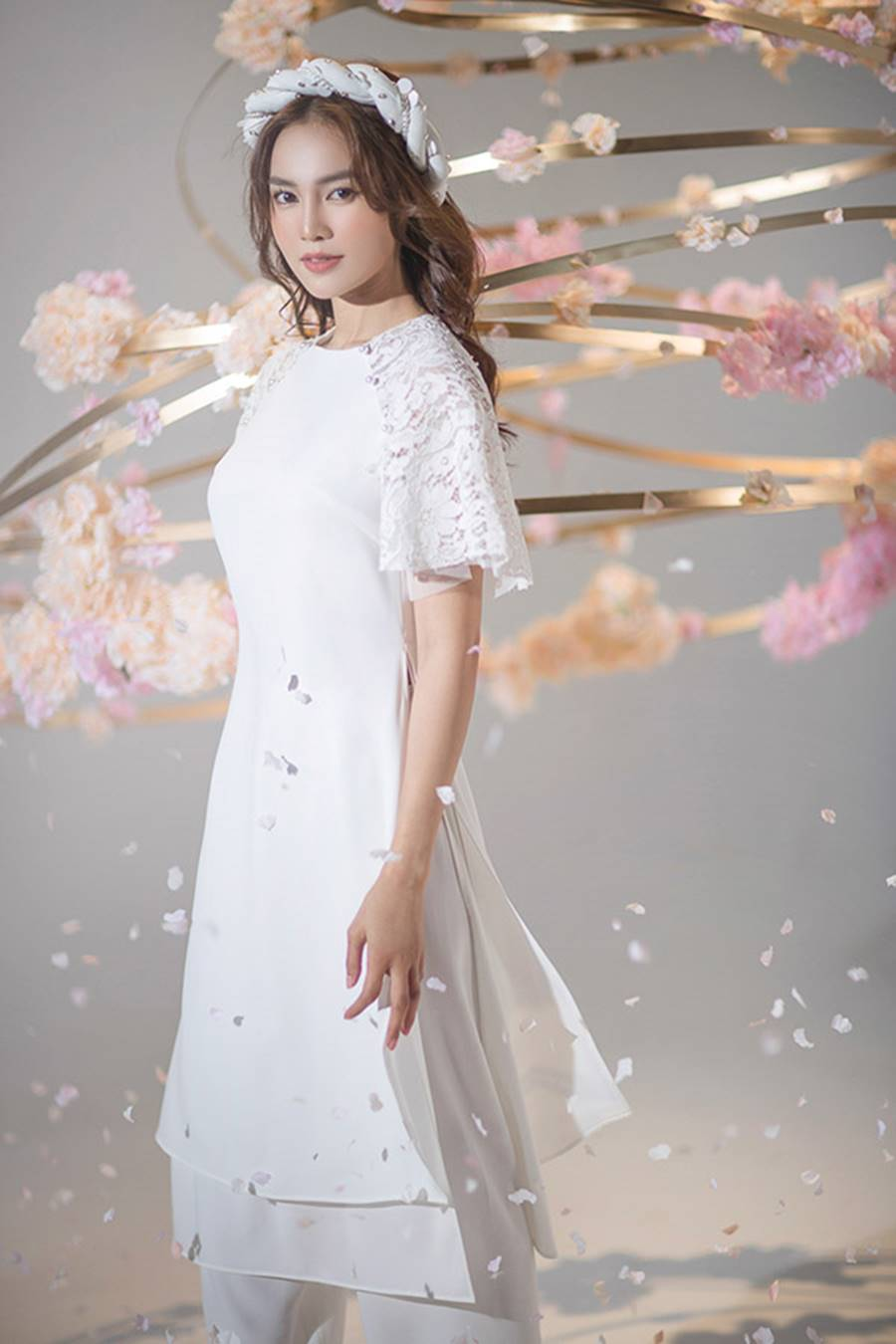 Ninh Dương Lan Ngọc khiến người hâm mộ mãn nhãn với nét đẹp thần tiên đón Tết-3