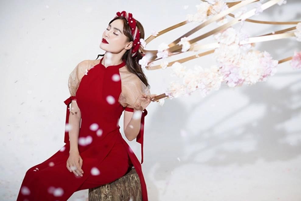 Ninh Dương Lan Ngọc khiến người hâm mộ mãn nhãn với nét đẹp thần tiên đón Tết-8