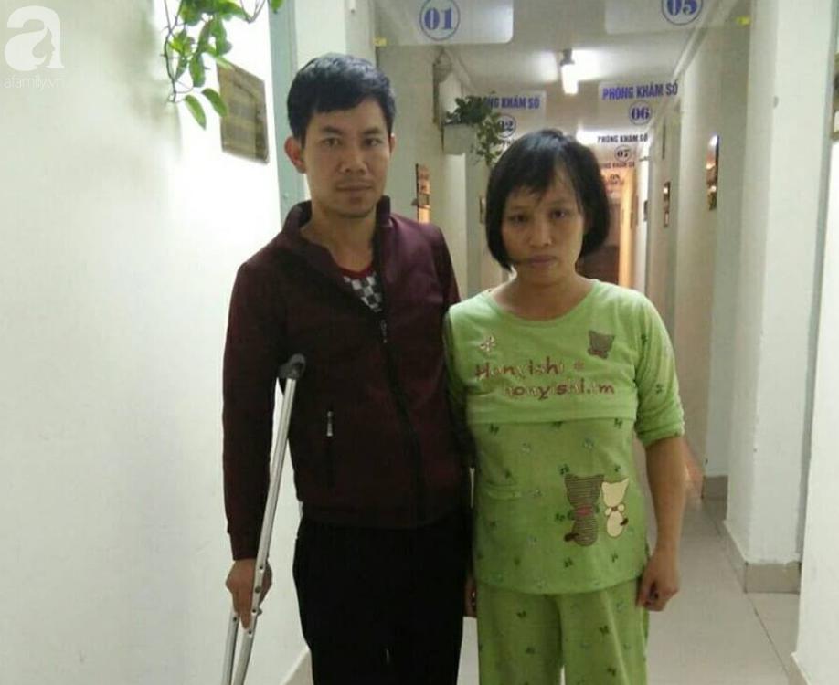 Người cha tật nguyền và con trai hơn 1 tháng mắc bệnh tim bẩm sinh cầu cứu-1